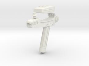 STAR TREK TOS Franz Joseph phaser in White Natural Versatile Plastic