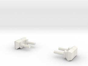 1:64 Mini light bars in White Natural Versatile Plastic