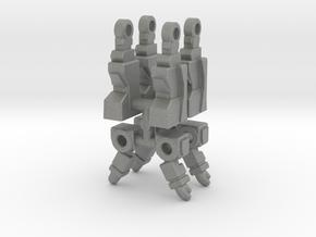 Soundwave Inchman Limbs in Gray Professional Plastic: Medium