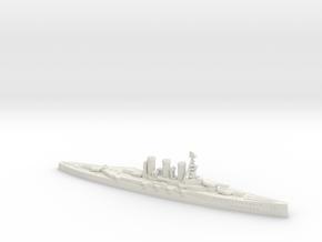 HMS Tiger 1914 1/2400 in White Natural Versatile Plastic