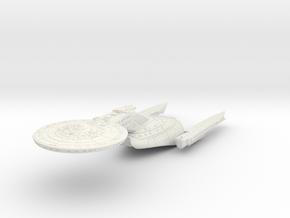 "Federation Wellington Class II  LtCruiser 8"" ( MOV in White Natural Versatile Plastic"