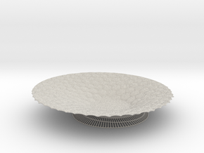 Bowl in Natural Full Color Sandstone