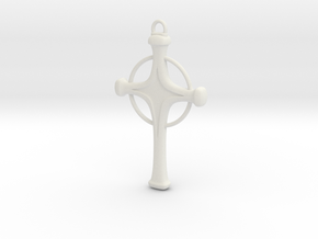 Uryu's Quincy Cross - Halo.ver in White Natural Versatile Plastic