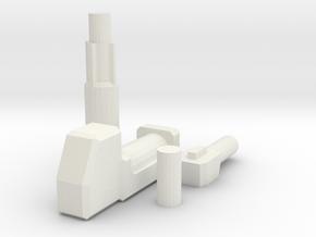 Prime gun redesign in White Natural Versatile Plastic