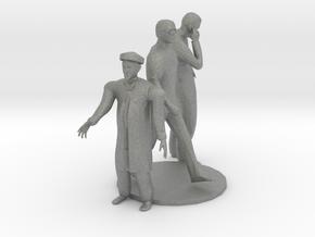 HO Scale Standing Men in Gray PA12
