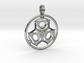 ELEMENT THREE in Antique Silver