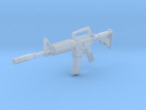 1/12th XM177E2gun in Smoothest Fine Detail Plastic