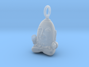 Humpty Dumpty Buddha in Smooth Fine Detail Plastic
