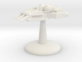 Ram Ship - v1 in White Natural Versatile Plastic