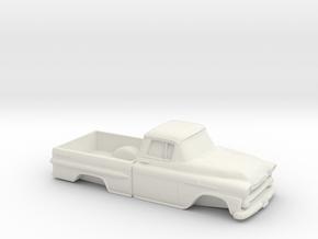 1/32 1958 Chevrolet Apache in White Natural Versatile Plastic