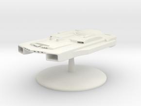 Jockett Class Battleship  in White Natural Versatile Plastic