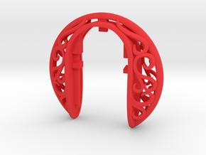 ANTICA XL 8 key fob in Red Processed Versatile Plastic