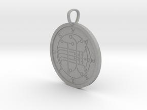 Naberius Medallion in Aluminum