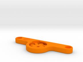 Garmin Varia Rack Mount for Salsa Alternator in Orange Processed Versatile Plastic