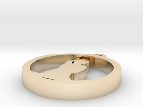 017yoga in 14k Gold Plated Brass