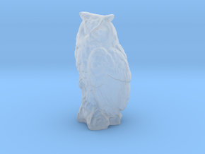1-35 scale owl 2 in Smooth Fine Detail Plastic