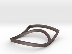 curvo in Polished Bronzed-Silver Steel