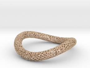 TORUS CORAL NEW 1-3 silver in 14k Rose Gold Plated Brass
