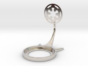 Star Wars Empire in Rhodium Plated Brass