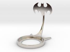 Batman 1992 in Rhodium Plated Brass