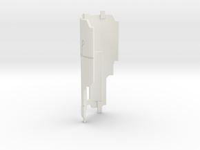 Custom Request - Mentor chassis cover Part16 in White Natural Versatile Plastic