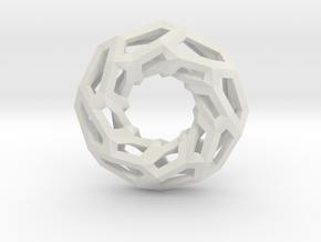 STRUCTURA 360 Sharp Edge, Pendant. Sharp Chic in White Natural Versatile Plastic