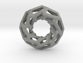 STRUCTURA 360 Sharp Edge, Pendant. Sharp Chic in Gray Professional Plastic