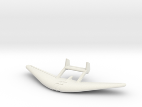 (1:144) Hirth Hi.24 Motor Glider Project in White Natural Versatile Plastic