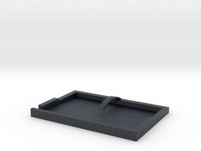 Minimalist Wallet in Black Professional Plastic