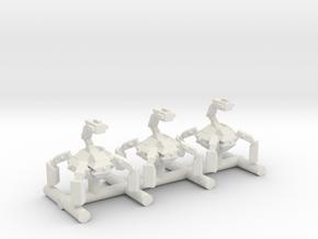 1-87 Scale Spidermech x3 in White Natural Versatile Plastic