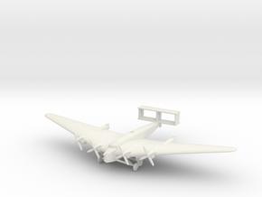1/285 (6mm) Mitsubishi Ki-20 in White Natural Versatile Plastic