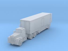 MackR short 35' box trailer open in Smoothest Fine Detail Plastic: 6mm
