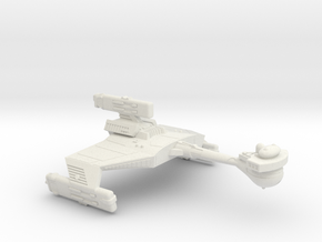 3788 Scale Klingon D5WK Refitted New Heavy Cruiser in White Natural Versatile Plastic