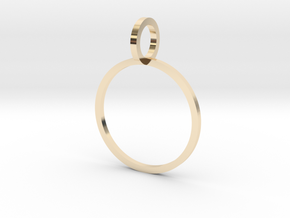 Charm Ring 15.70mm in 14K Yellow Gold