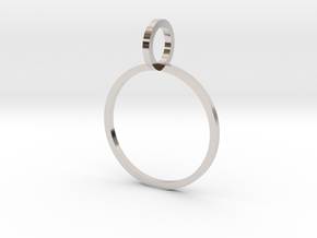 Charm Ring 16.30mm in Platinum