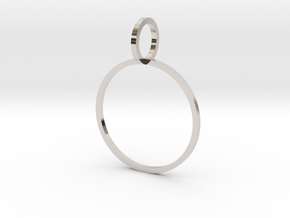 Charm Ring 19.41mm in Platinum
