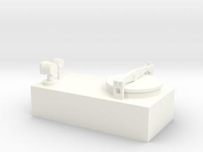 Tankdom für Binnentanker in White Processed Versatile Plastic: 1:50