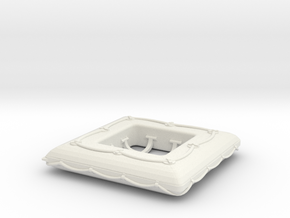 1/20 DKM Life Raft Single in White Natural Versatile Plastic