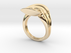 Masalla Curved Ring in 14K Yellow Gold: 6.25 / 52.125