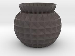 Vase GRFT in Matte Full Color Sandstone