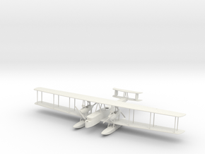 1:200 Scale Zeppelin Staaken Type L in White Natural Versatile Plastic