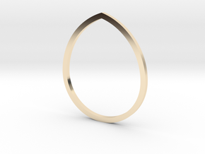 Drop 16.30mm in 14K Yellow Gold
