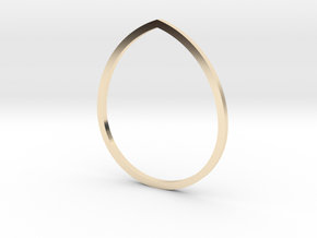 Drop 18.19mm in 14K Yellow Gold