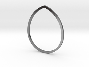 Drop 19.41mm in Polished Silver