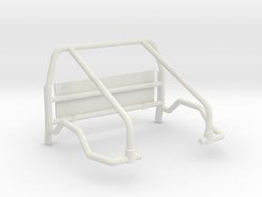 Orlandoo F150 simple rear cage in White Natural Versatile Plastic