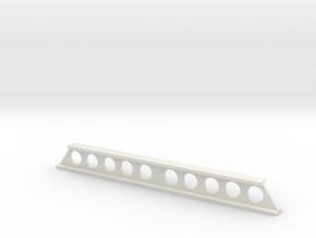 Stahlträger geschweißt V2 - 80mm - 1:120 TT in White Natural Versatile Plastic