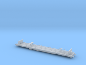 YXA Sleeper Wagon - Single in Smooth Fine Detail Plastic