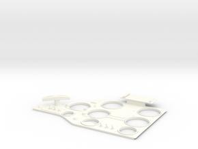 1.3 SUKHOI COCKPIT (C1) in White Processed Versatile Plastic