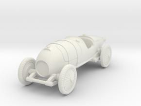 1/72 Bugatti 29/30 in White Natural Versatile Plastic