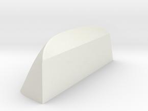 Front-window-vacuum-mold-block in White Natural Versatile Plastic